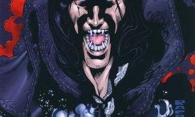 Обложка превью комикса, вышедшего за несколько лет до релиза. Центральная фигура — Деймон Джулиан.