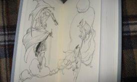 Буря мечей, илл. Чарльз Весс. Драконы Дэйнерис и она сама