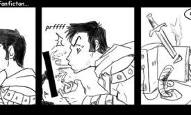 Реакция персонажей наслеш-фики персонажа Сальваторе: на месте Артемиса Энтрери мог быть, например, Бронн. Илл. © yoski