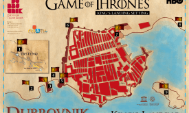 Места съемок в Дубровнике