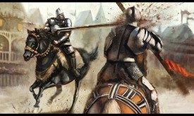 Сражение двух рыцарей