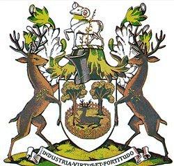 Олень - одно из традиционных гербовых животных