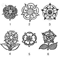 Геральдические розы