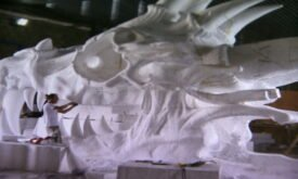 Драконий череп из эпизода, где Арья подслушала разговор
