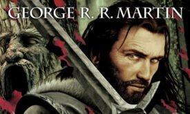 Нед Старк с мечом Лед