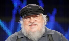 GRRM-at-GoT-panel