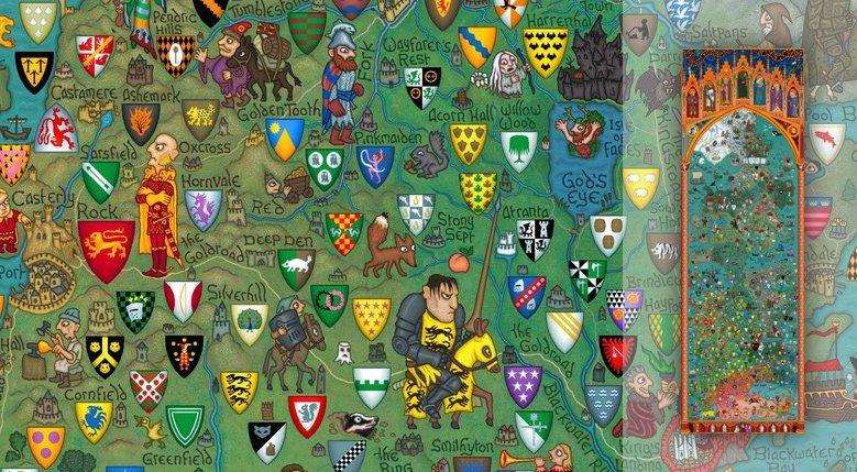 гербы вестероса