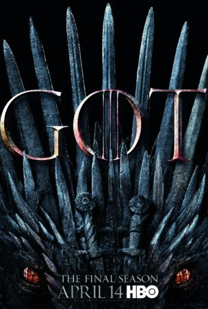 Постер 8-го сезона Игры престолов