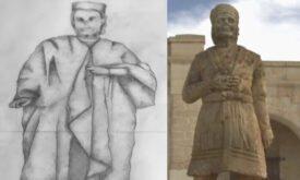 Концепт и экранное воплощение статуи Бейелора Благословенного, Игра престолов