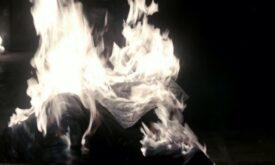 Сжигание… ммм… черного. Нет, не Ку-клукс-кланом.