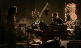 Разговор Арьи с отцом в башне Десницы