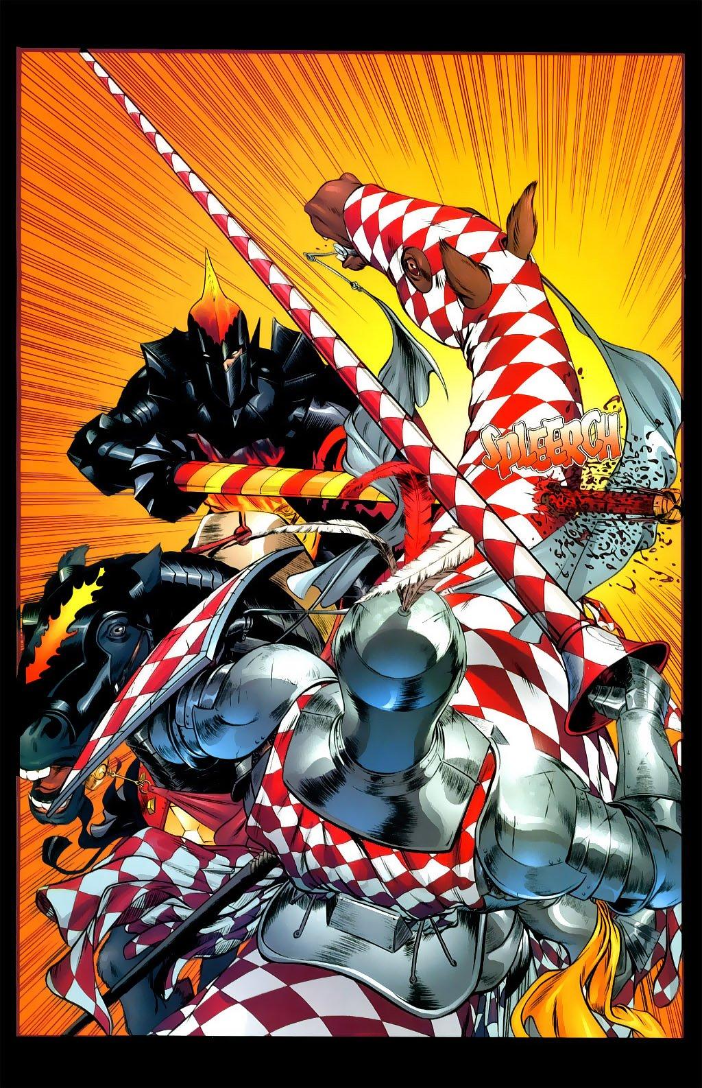 Комикс Hedge Knight