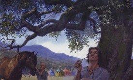Межевой рыцарь I (5b), худ. Ted Nasmith