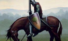 Межевой рыцарь I (5a), худ. Ted Nasmith