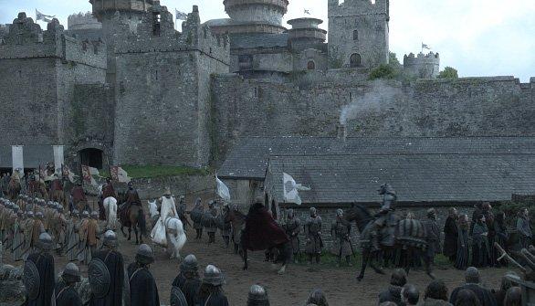 Прибытие короля в Винтерфелл (после)