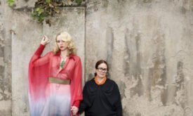 слева — Гвендолин Кристи (Gwendoline Christie), Бриенна