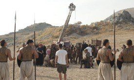 Съемки прибытия Дэйнерис в Кват / Picture: HBO / Paul Schiraldi