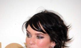 Лена Хиди после вручения Эмми 2011 (пресс)