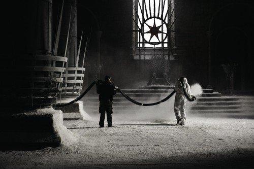 Одна из старейших декораций «Игры престолов» в студии Titanic Studios