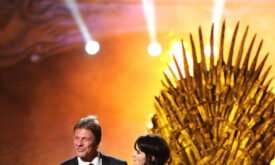 Шон Бин и Лена Хиди на Scream Awards