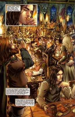 В первом выпуске кособочных рисунков особенно много, эта страница одна из единственных удачных