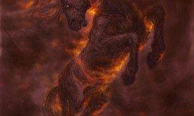 Бледная кобыла (в огне)