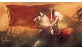 a_queen_riding_to_war