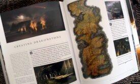 Стол-карта на Драконьем камне
