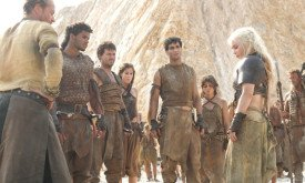 Red Waste- Daenerys and her small Khalisar are isolated and starving.