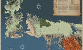 Карта Вестероса и Эссоса