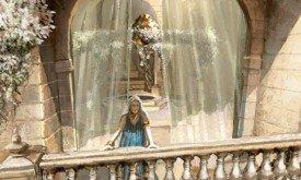 Дени на балконе дома Иллирио
