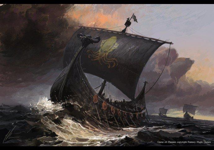 Боевой корабль Грейджоев