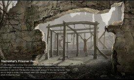 Загон с пленными в Харренхолле