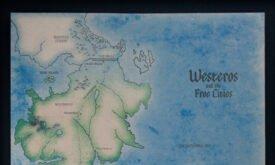Путеводитель по Вестеросу (автор Эмма Торнхилл) — карта целиком
