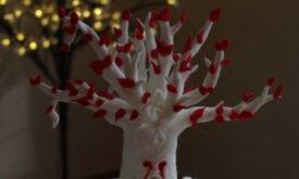 Сердце-дерево (торт)