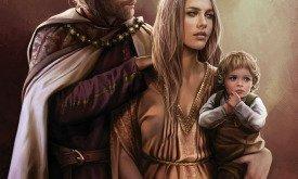 Джейхерис и Алиссана с сыном
