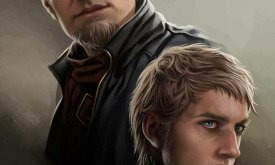 Титос Ланнистер с сыном Тайвином