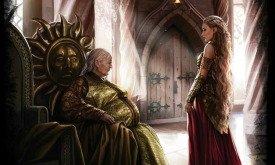Рейнис перед дорнийской принцессой