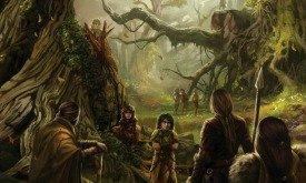Первые Люди встречают Детей Леса