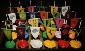 Кексы в стиле Игры престолов