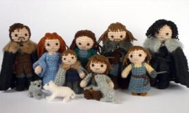 Вязанные куколки, LunasCrafts на Etsy