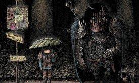 Арья, Сандор и птичка (Мой Сосед Тоторо)