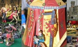 Игрушечные рыцари и замки