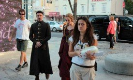 Эйдан Гиллен и Лена Хиди, Дубровник, 27 сентября (Foto: Tonči Plazibat / CROPIX)