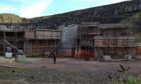 Съемочная площадка в Magheramorne Quarry (фото Gary Millar, август 2012)