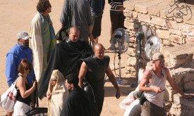 Съемки в Эс-Сувейра в октябре 2012; фото © Mohamed Amine Lakaab