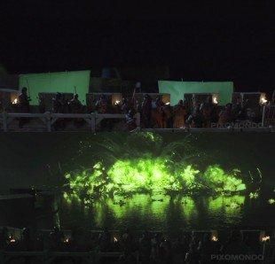 Кадры процесса съемок и обработки: битва на Черноводной