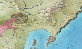 Кусочек Дотракийского моря (Залив работорговцев) из «Земель Льда и Пламени»