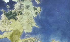 Карта севера из «Земель Льда и Пламени» (эксклюзив westeros.org)
