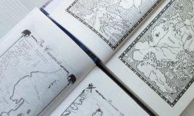 Танец с драконами: карты в первом и втором томе